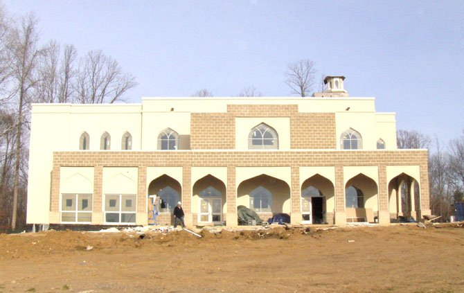 The Ahmadiyya Muslim community's mosque is being built off Walney Road in Chantilly.