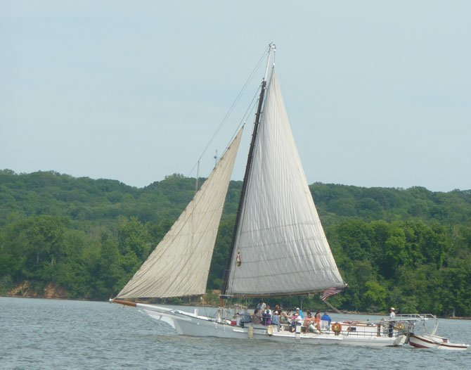 Enjoy the fall foliage by water on the historic Skipjack Minnie V.