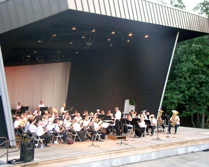 """The City of Fairfax Band will present """"Springtime Pops"""" on Saturday, June 9 at 7:30 p.m. at the Mary Louise Jackson Amphitheater at Northern Virginia Community College."""