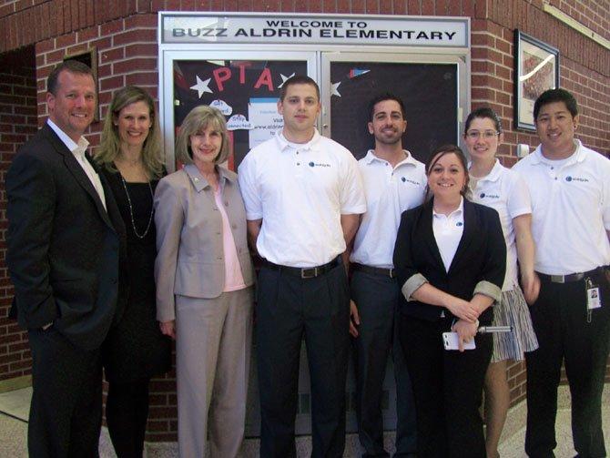 Aldrin Elementary School welcomes Worldgate LLC as a business partner.