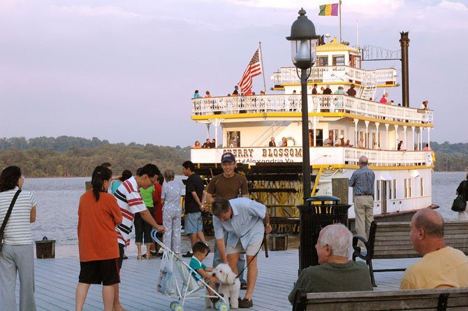 The annual Fund for Alexandria's Child river boat cruise on the Cherry Blossom is Friday, June 8. The evening's highlights include a dockside cocktail hour, live music and silent auction.