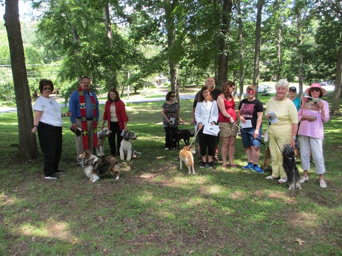 Antioch Christian Church held its second annual pet blessing on Sunday, June 1. About ten pets, including those there in spirit only, were blessed and given religious medals.