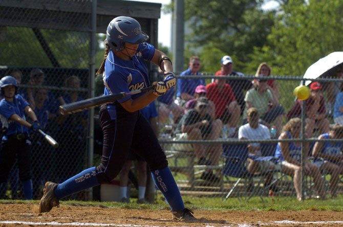 West Potomac senior catcher Jasmine Picini earned first-team all-region and all-district honors in 2012.