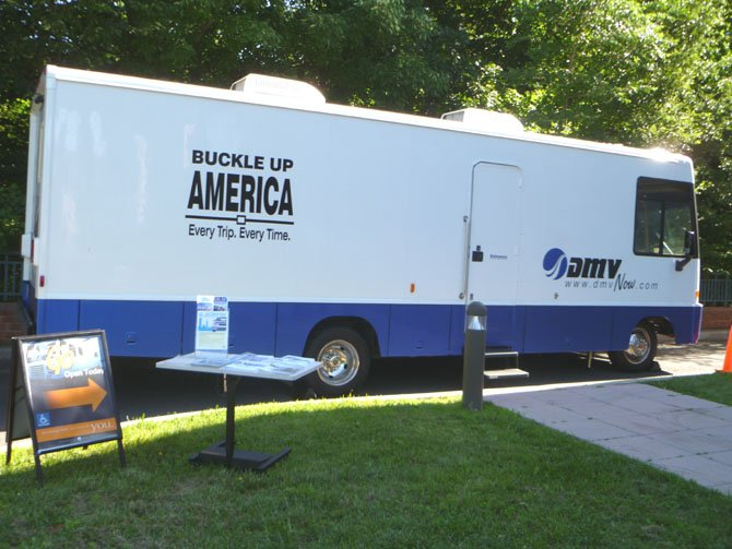 The DMV 2 Go mobile offices are recreational vehicles that have been outfitted to provide all the services of a regular DMV office.