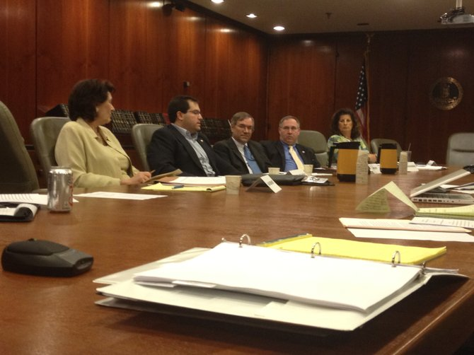 Members of a subcommittee of the Virginia Freedom of Information Advisory Council meet in Richmond last week, although they made no progress in improving the commonwealth's failing grade for transparency.