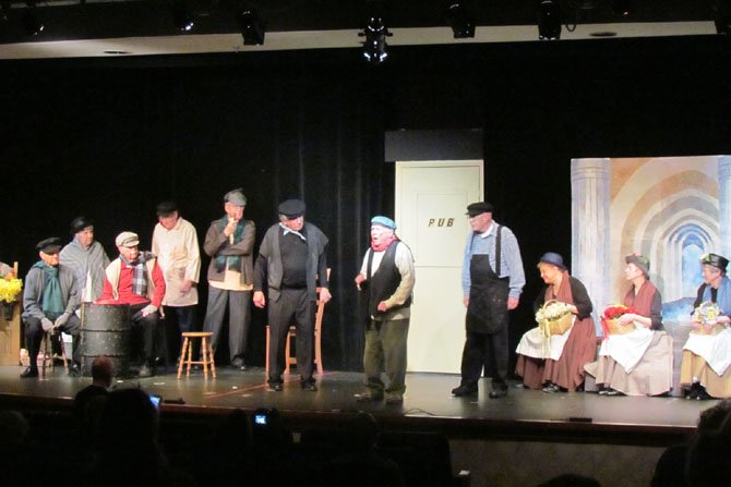 Seniors in the drama club at Greenspring, a retirement community in Springfield, present a play. Experts advise those looking for retirement facilities to spend enough time at the community to ensure that it is a good fit socially.