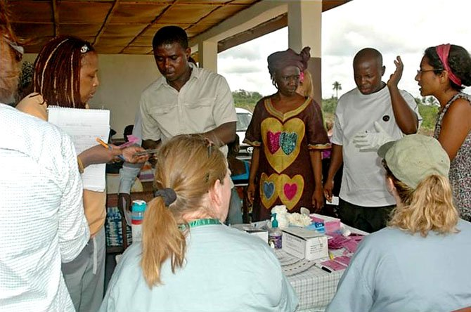 HCW Medical Mission in Bo, Sierra Leone.