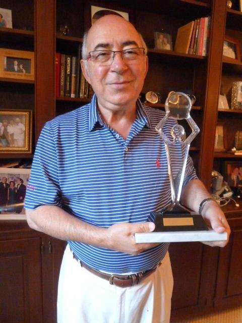 Charles Dahan holds the best of the best award in eyeglass design.