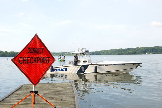 On Saturday July 14, the Marine Patrol Unit conducted a BWI checkpoint at the Pohick Bay Regional Park boat dock, assisted by the Franconia Station Neighborhood Patrol Unit. All boaters returning to the dock will be checked to make sure that their ability to drive has not been impaired by alcohol or drugs.