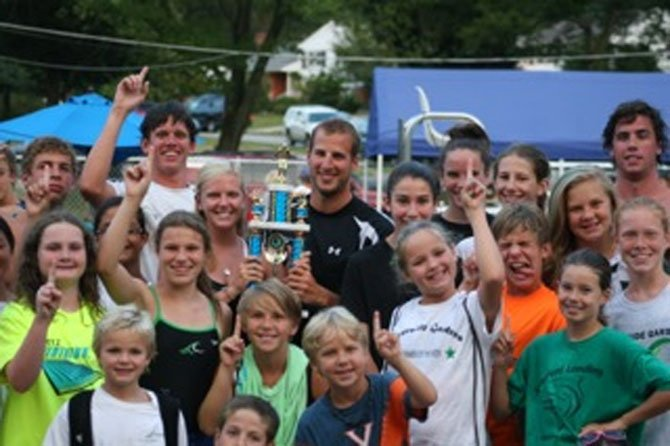 Riverside Gardens' Tsunami swim team became NVSL Division Six champions on July 21.