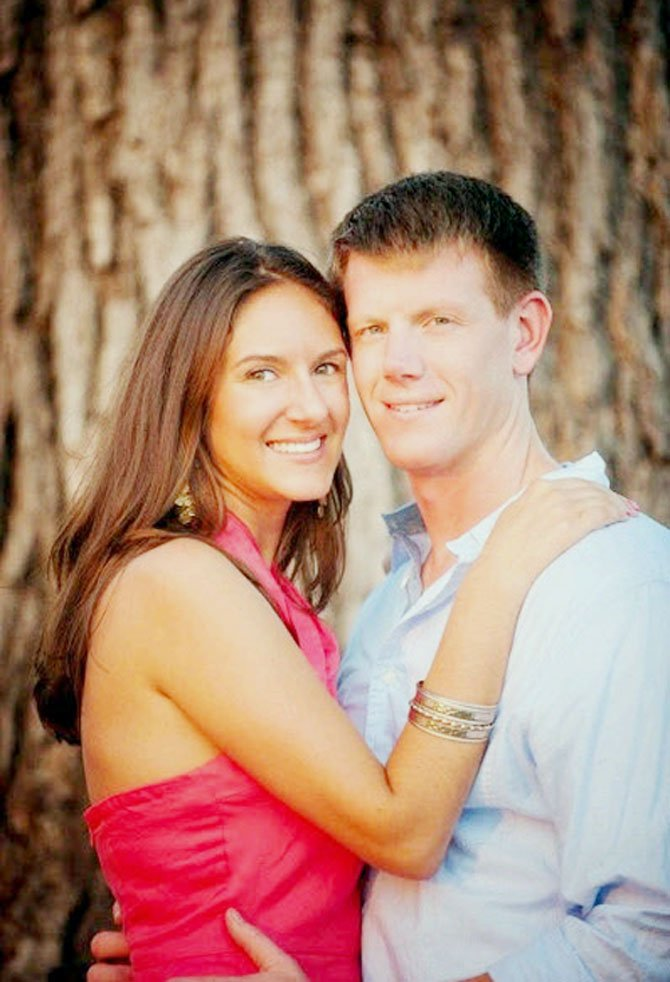 Laura Marie Howell and Lt. Brian Michael Harrington