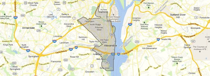 The 45th House District includes south Arlington, east Alexandria and southeast Fairfax County.