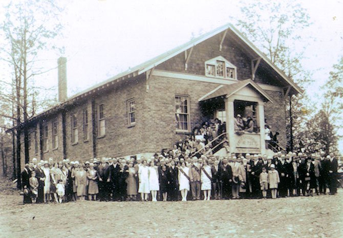 The Great Falls Grange members (circa 1930s).