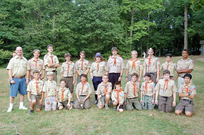 McLean's Boy Scout Troop 1130 earned the Honor Troop Award at summer camp in Maryland.