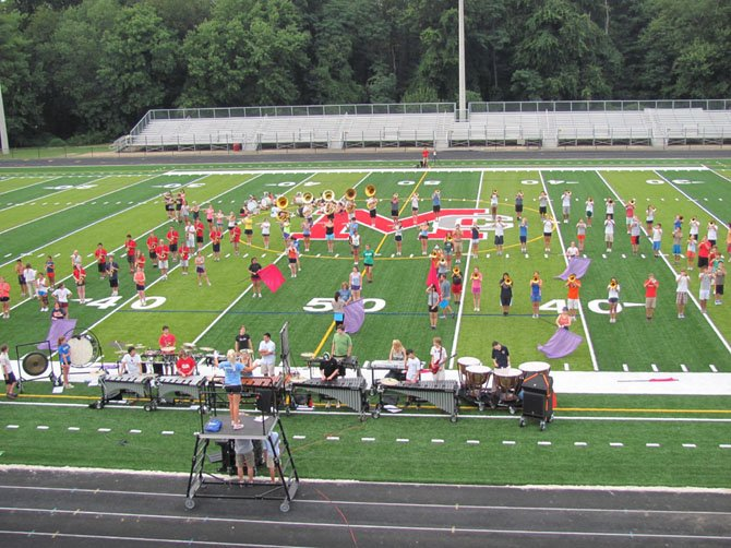 "Band formation with ""Pit and Guard."""