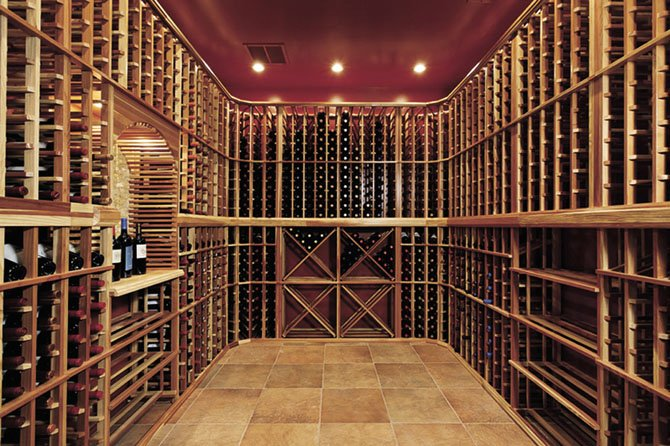 Jason Kirkpatrick of Centreville-based Kirkpatrick's Construction won a Contractor of the Year Award from the National Association of the Remodeling Industry for a McLean project that included a wine cellar with a tasting area.