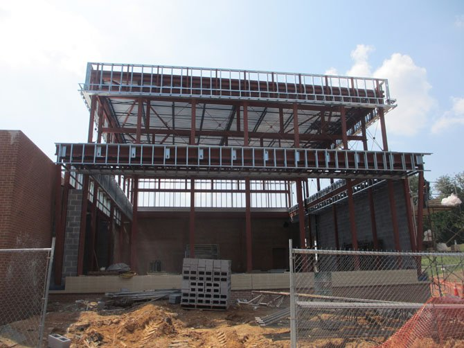The $60 million renovation of George C. Marshall High School will be completed by the start of the 2014 school year.
