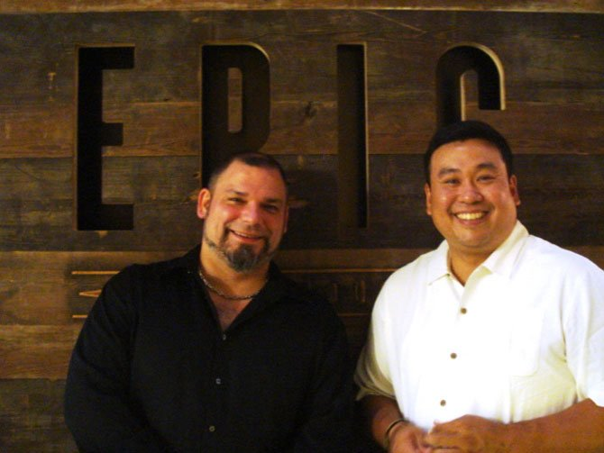 Joon Yang, General Manager/Owner and Wayne Halleran, Chef/Owner.
