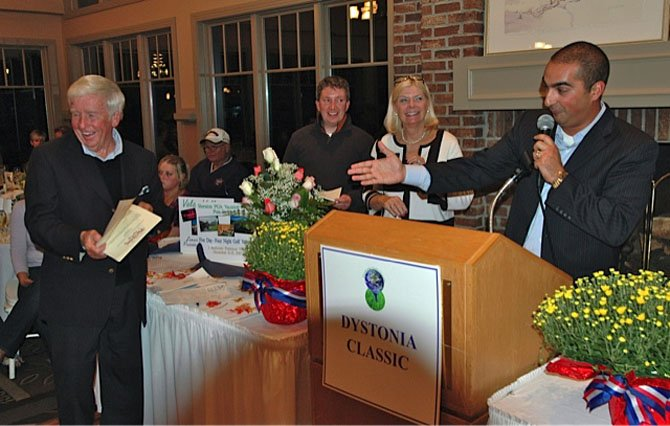 A scene from last year's fundraiser supporting Dystonia research.