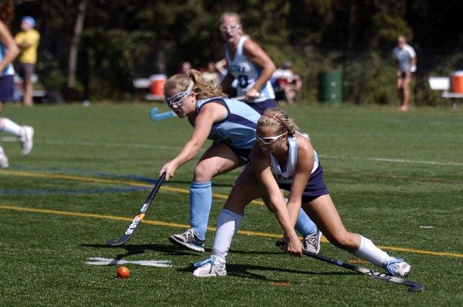 The Yorktown field hockey team lost to Marshall in the third-place game of the Herndon Invitational on Sept. 15.