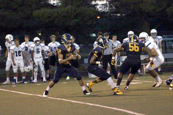 Senior Danny Copeland is the Bullis' quarterback, taking over for graduated three-year starter Kylor Bellistri.