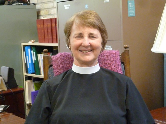 The Rev. Cynthia Baskin, rector of St. James Episcopal Church in Potomac.