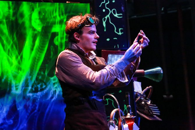 "Alex Mills in Synetic Theater's ""Jekyll and Hyde."""