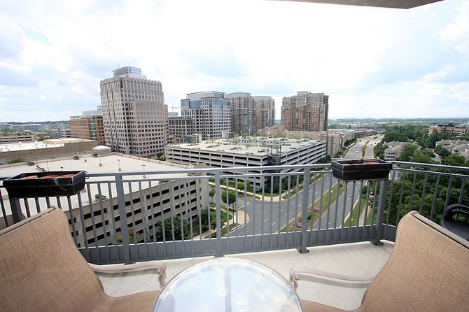 A condo located next to Reston Town Center, one of the stops featured on this years Reston Homes Tour. 