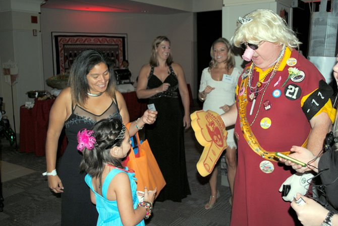 Abby meets Hogette at Magic Ball 2012.