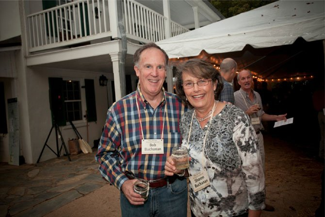 Robert and Sharon Buchanan, residents of Potomac, participate in last year's Park After Dark.