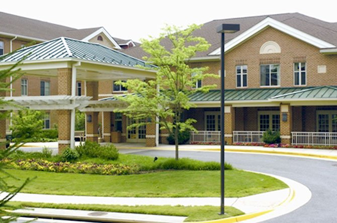The Continuing Care neighborhood at Greenspring retirement community.