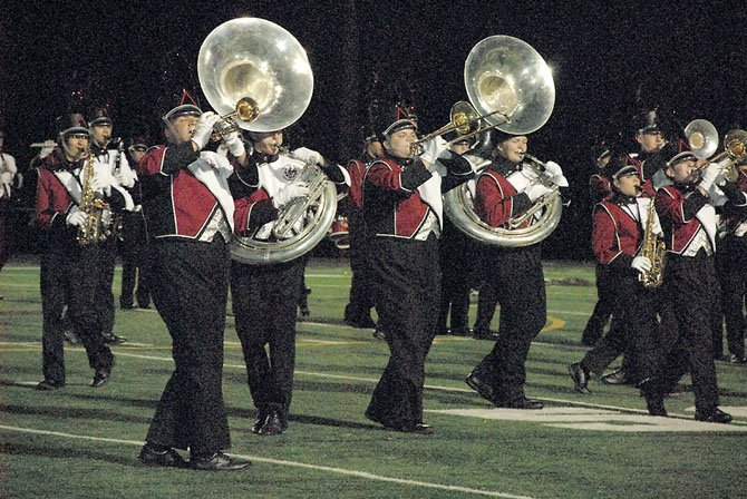Herndon High hosted the 16th Annual Showcase of the Bands Saturday. As the host, Herndon High did not compete, but performed in exhibition. Twenty-six bands from across northern Virginia and Maryland participated in the competition.