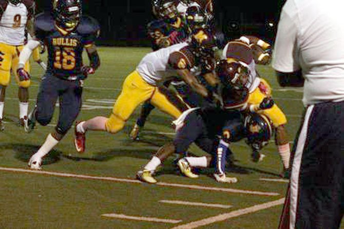 The Bullis football team defeated Bishop McNamara, 26-3, on Oct. 5.