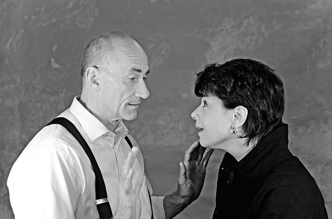 M.K. Turner as Charles and Karen Jadlos Shotts as Lane.