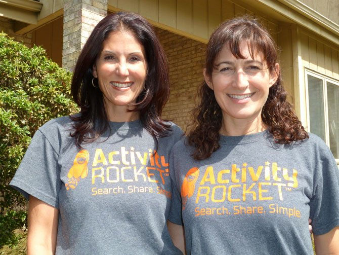 Lisa Friedlander and Ilene Miller — entrepreneurs and founders of Activity Rocket.com