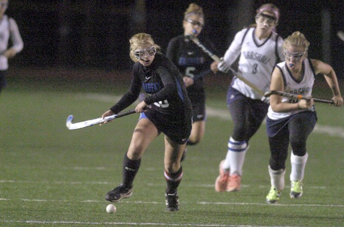 Fairfax senior captain Shannon Cosgrove is the Rebels' leading goal scorer.