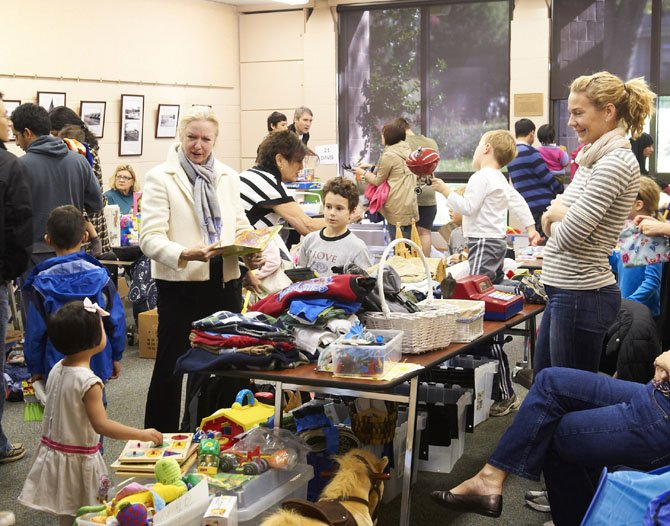 Children's Flea Market at the McLean Community Center.