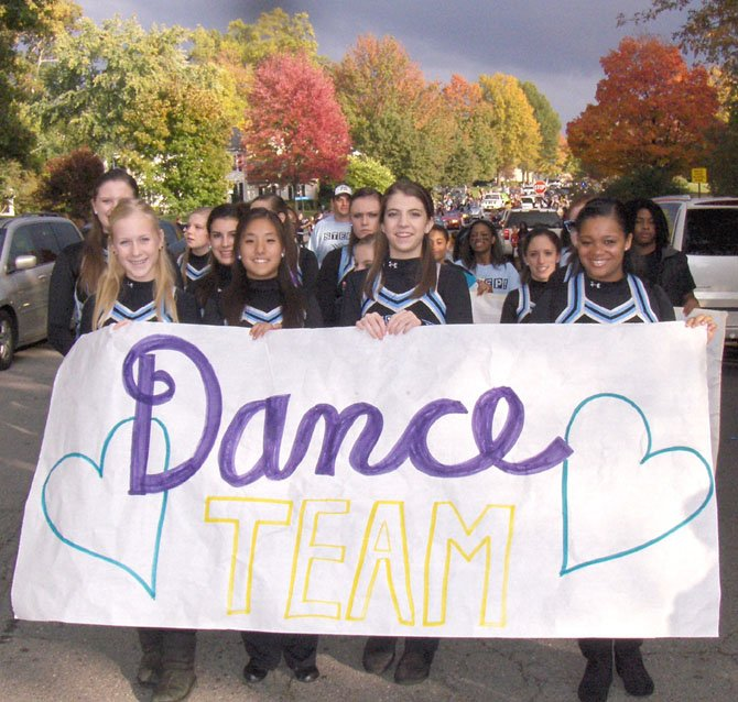 Dance team.