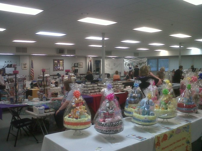 Many vendors selling at the Vienna Volunteer Fire Department Auxiliary harvest bazaar return year after year, as do many of the fair's customers.