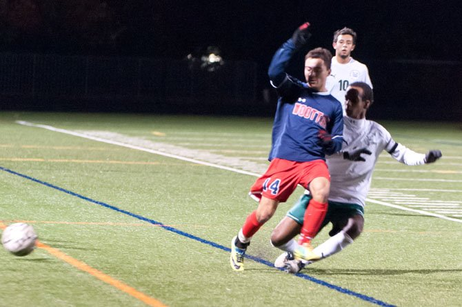 Junior midfielder Matt McDonnell and the Wootton boys' soccer team advanced to the state final four with a 1-0 overtime victory against Walter Johnson on Nov. 5.