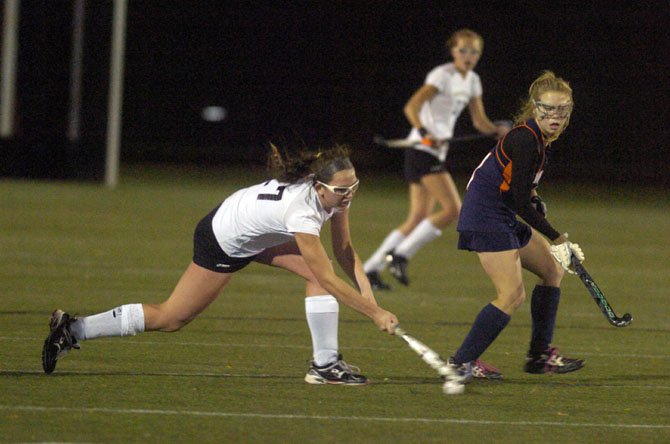 Westfield's Katie Winesett scored three goals and had two assists in a 6-0 victory against West Springfield in the regional semifinals on Nov. 1 at Washington-Lee High School.