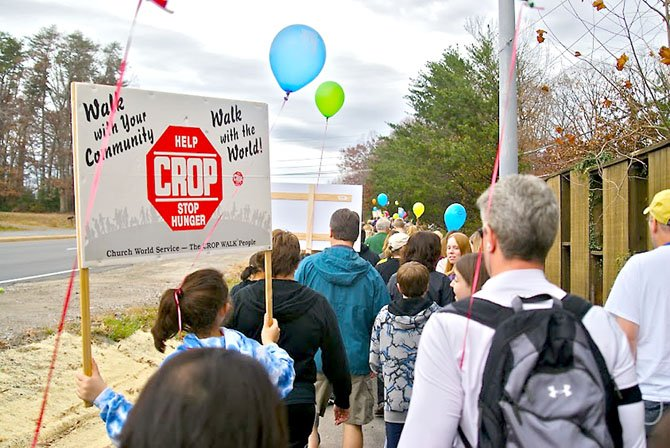 This year's walk begins at 2 p.m. Sunday, Nov. 18, at Living Savior Lutheran Church, 5500 Ox Road, Fairfax Station.