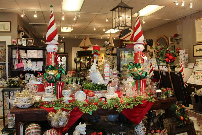 The Virginia Florist offers a multitude of gift possibilities.