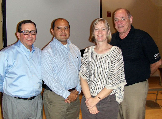 Elected to three-year terms on the CIF Board of Directors, beginning Jan. 1, 2013 are (from left) Carlos Cunha, Luis Flores, Terry Angelotti and Ed Duggan.