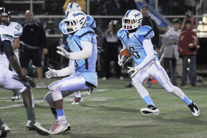 Yorktown running back MJ Stewart rushed for 249 yards and three touchdowns against South County on Nov. 16.