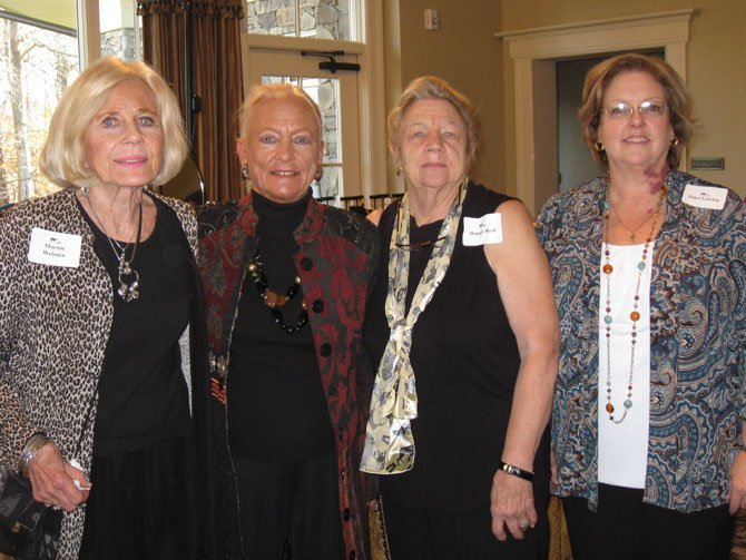 From left: FMCA Corresponding secretary Marion Webster, president Claire Proffitt, treasurer Winnie Reed and vice-president Janet Lamkin.