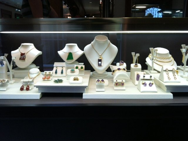 Jewelry at Adeler Jewelers.