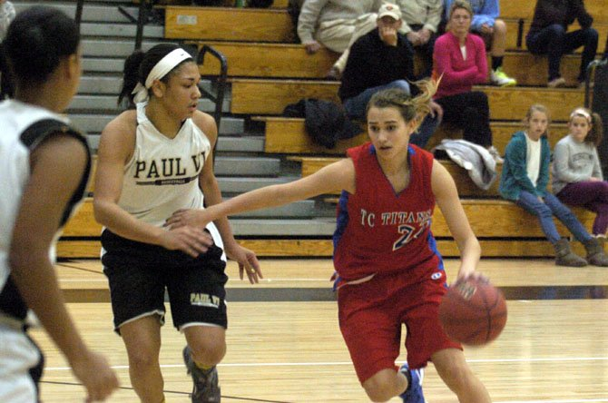 T.C. Williams junior guard Angie Schedler is the Titans' top perimeter-shooting threat.