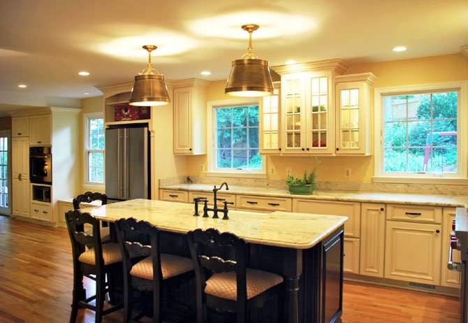 "Local contractors say the holidays often generate ideas for home remodeling projects. ""Large kitchen remodels are often inspired by small kitchen shortfalls,"" said Evelyn Nicely of Nicely Done Kitchens."