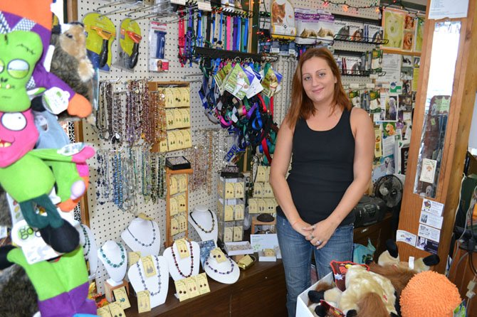 Your Dog's Best Friend features jewelry and ornaments handcrafted by Manager Jennifer Bateman.